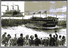 Launch of the Livadia