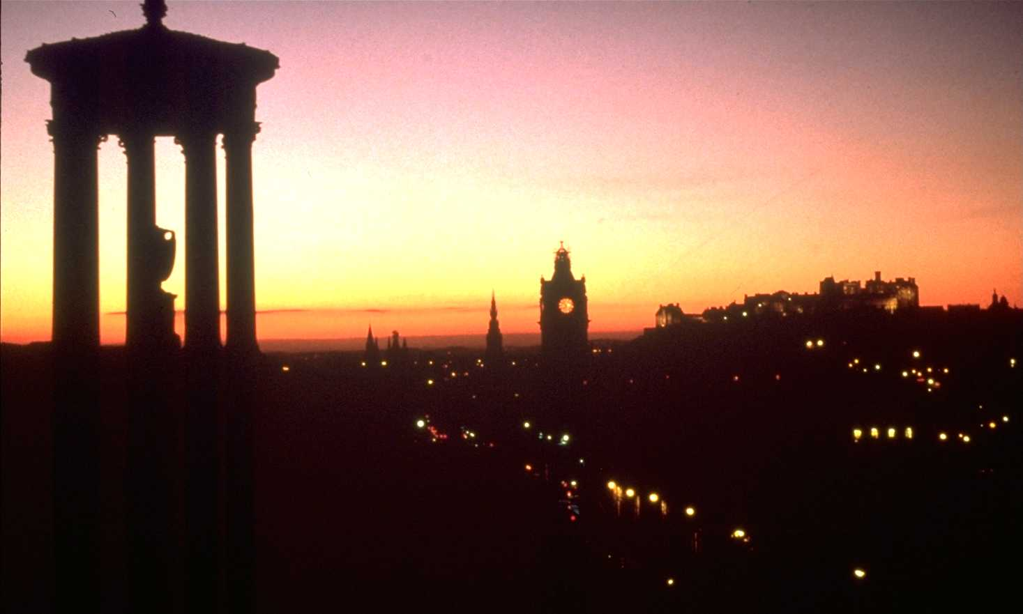 Edinburgh: Sunset