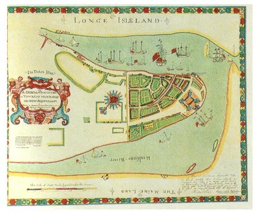 Manhattan Early Map