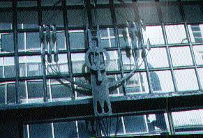 Glasgow School of Art Metalwork Detail