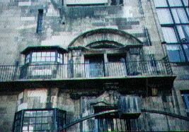 Glasgow School of Art Front Entrance Bay