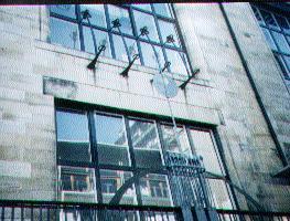 Glasgow School of Art Windows