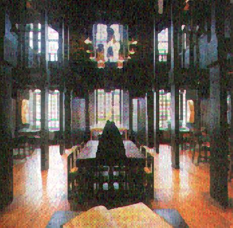 Glasgow School of Art Library Interior